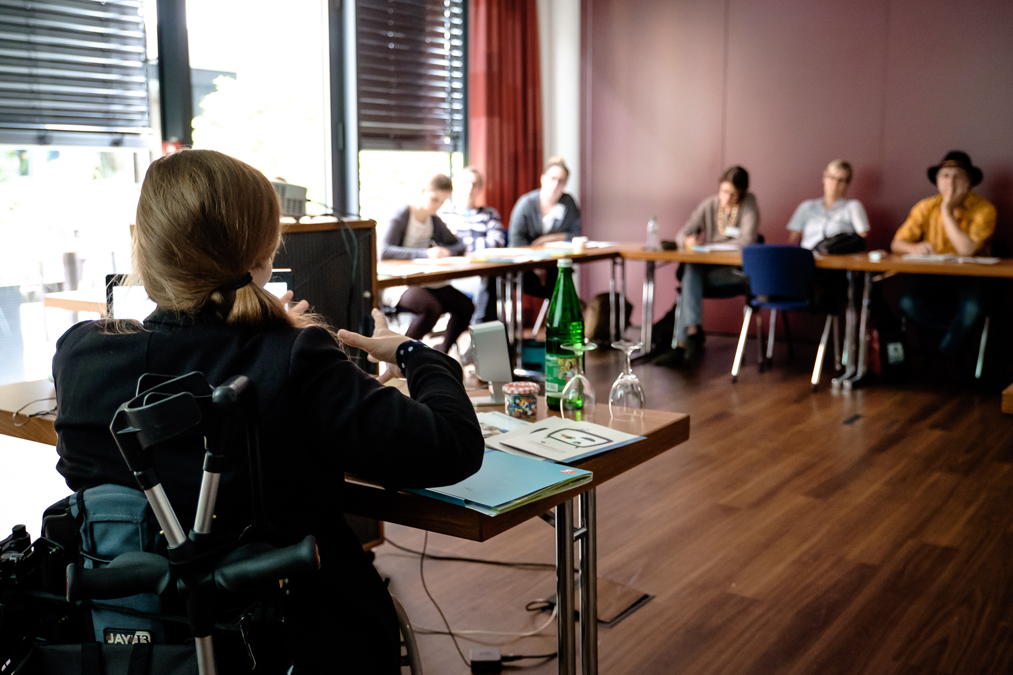Workshops mit dem Leidmedien-Team