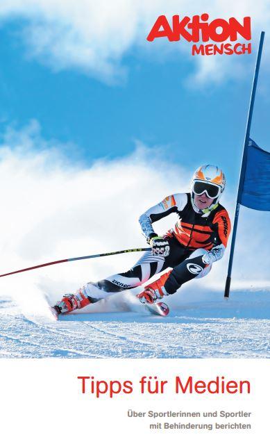 Broschüre zur Berichterstattung zu den Paralympics in Sotschi