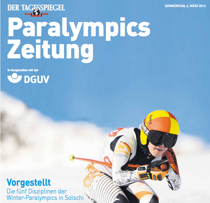 Paralympics in Sotschi 2014 – Medienlinks