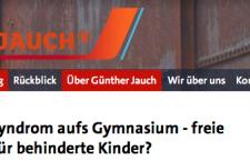 """""""Mit Down-Syndrom aufs Gymnasium"""" – Presseschau zu Günther Jauch"""