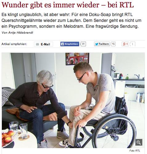 """""""Reset – Zurück ins Leben"""" – Reaktionen zur RTL-Dokusoap"""