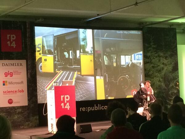 Barrierefreiheit & Inklusion im Netz – Leidmedien auf der re:publica 2014