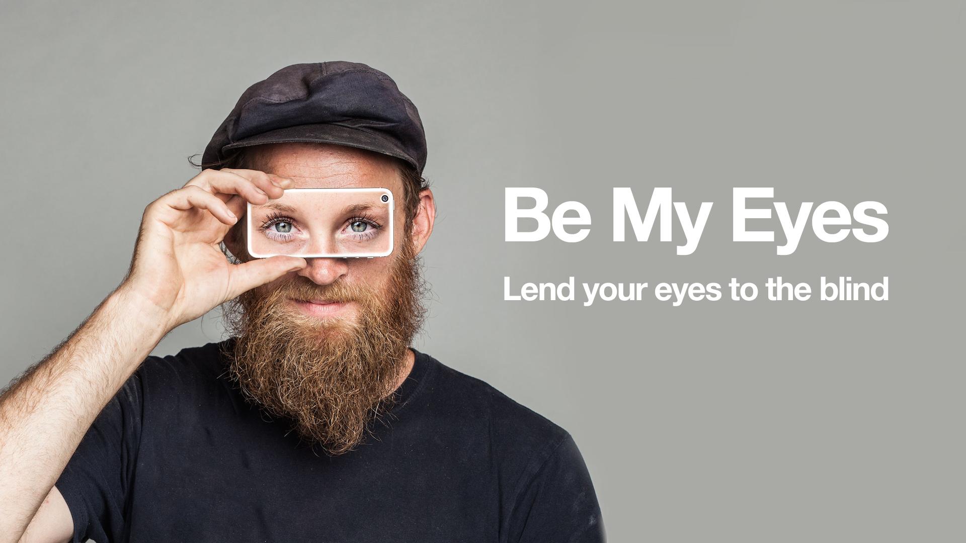 """""""Be My Eyes"""" – App für blinde Menschen im Praxistest"""