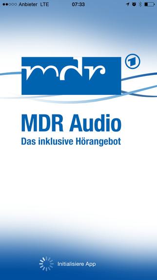 """Inklusive """"MDR Audio App"""" für blinde, sehbeeinträchtigte und sehende Menschen"""