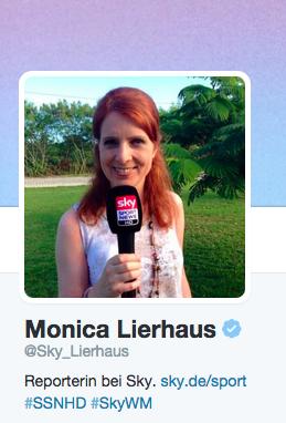 Die vier Rollen der Frau Lierhaus und die Medien im Diskurs