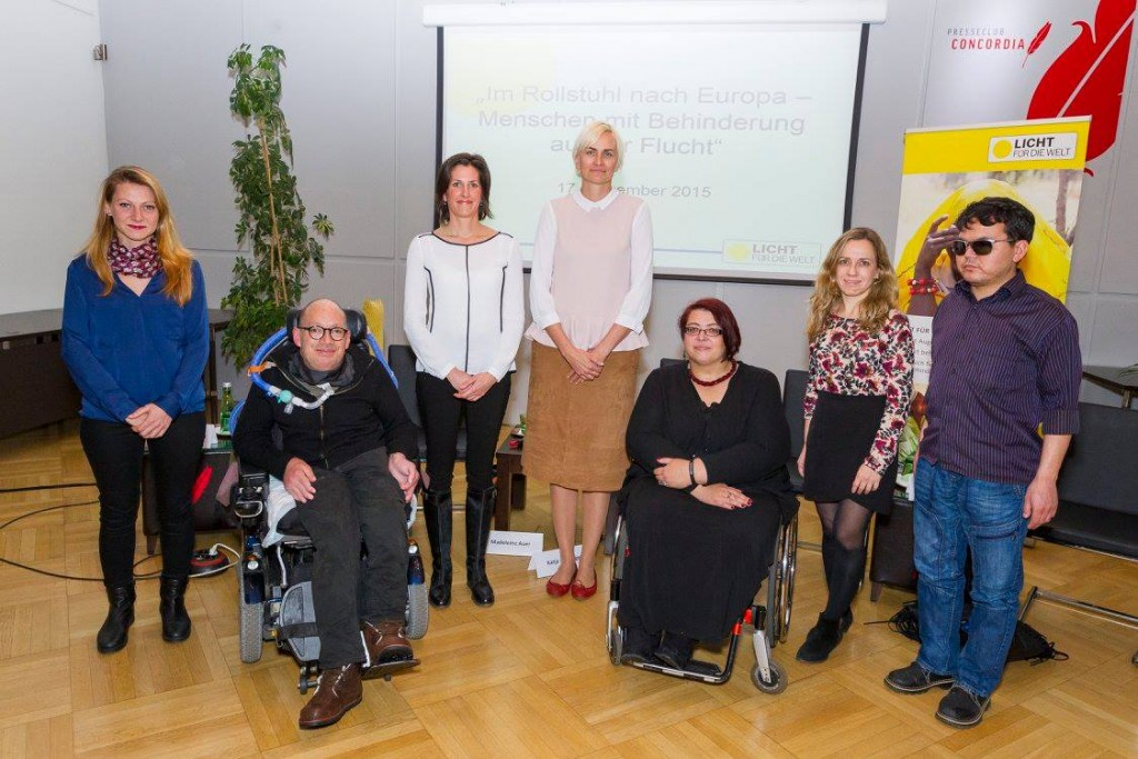 TeilnehmerInnen der Podiumsdiskussion