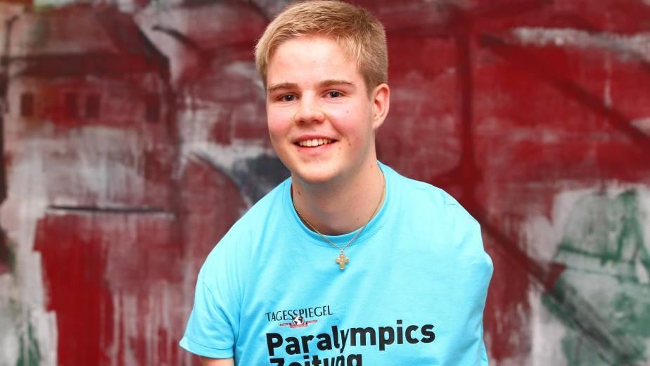 Redakteur der Paralympics Zeitung: David Hock Foto: Thilo Rückeis/ Tagesspiegel