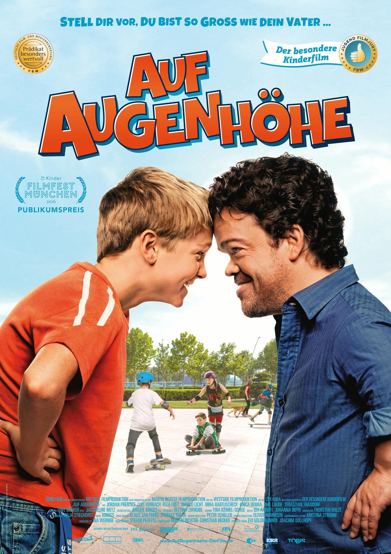 """Fiese Kinder und ein """"Zwerg"""" – Filmkritik """"Auf Augenhöhe"""""""