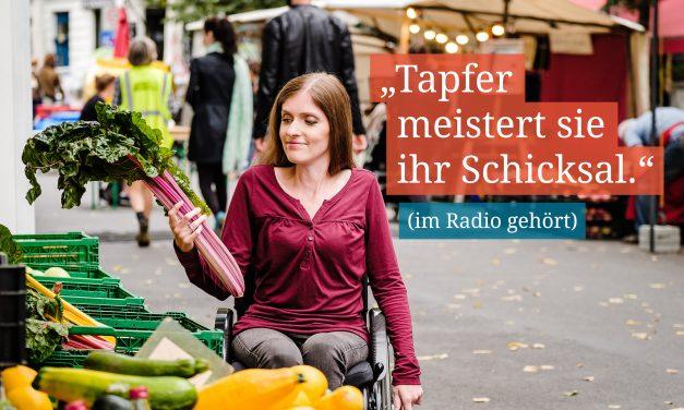 """Adina Hermann: """"Die Behinderung ist einfach ein Teil meines Lebens – das macht mich nicht zur Heldin."""""""