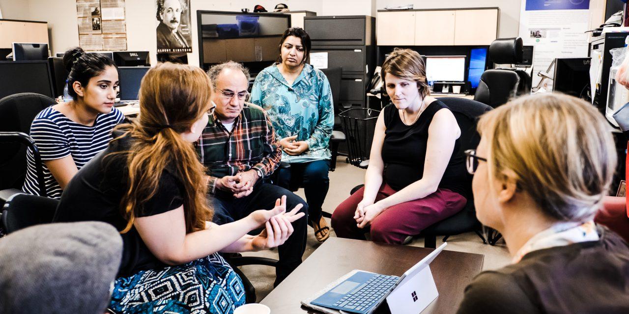 Besuch des Inclusive Media Design Centre