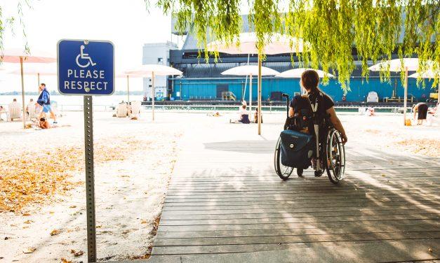 """""""Personen mit Rollstuhl werden in Toronto viel mehr mitgedacht"""""""