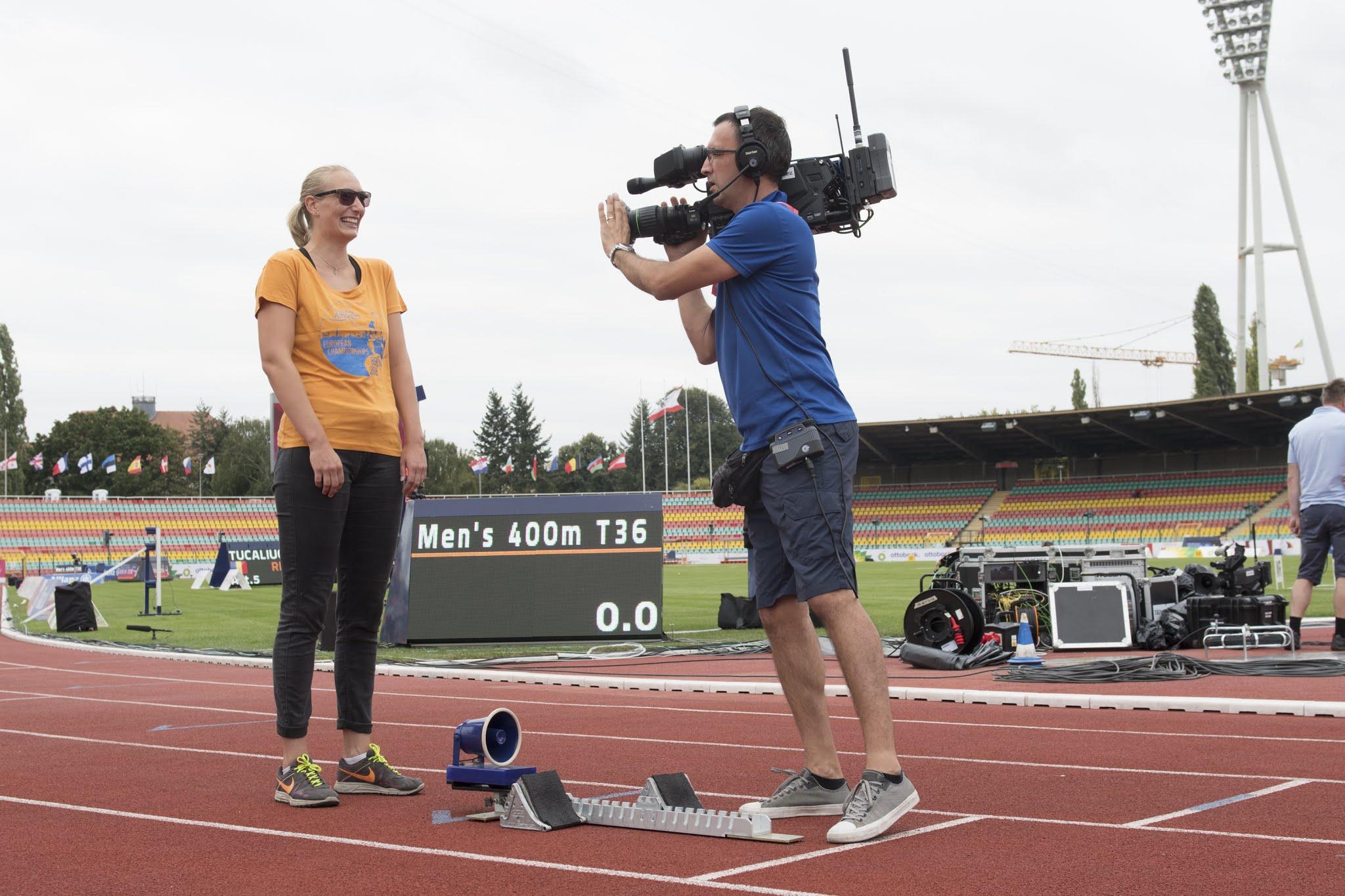 populäres Design neue Version Top Design Para Leichtathletik-EM: Informationen & Medienangebote ...