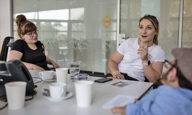 Im Gespräch: Sportlerin und Politikerin Kristina Vogel